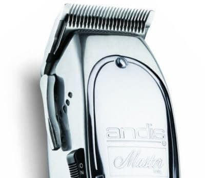 Andis Master barber hair clippers will stun you with their chromium looks.