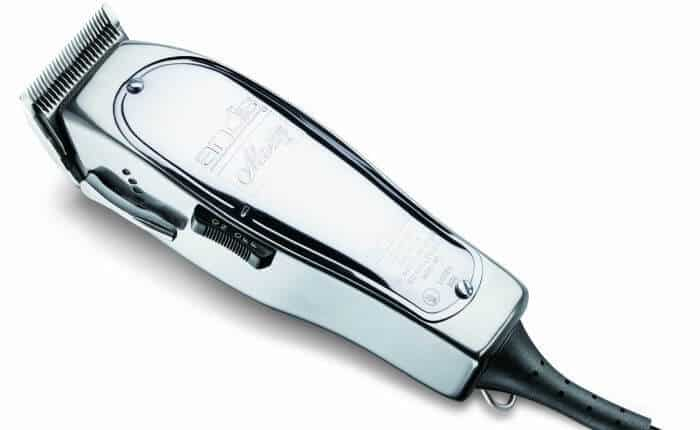 Andis Master clippers: strong corded action with an extra tough aluminium case.