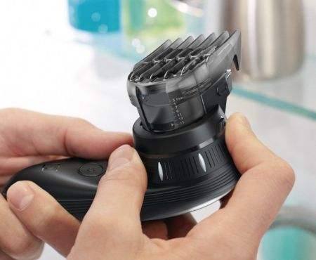 Washable parts: a significant advantage of this Philips Norelco cordless hair clipper.