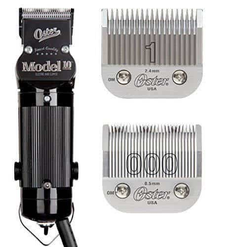 Oster Model 10 blades are sharp and cut with precision.
