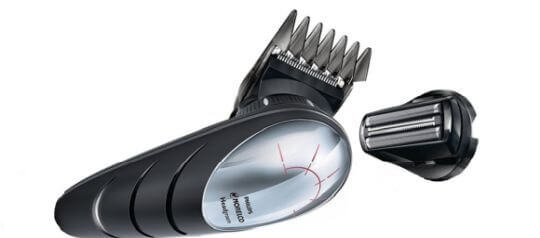 A great cordless hair clipper for bald heads, Norelco 5580/40 is also easy to maintain.