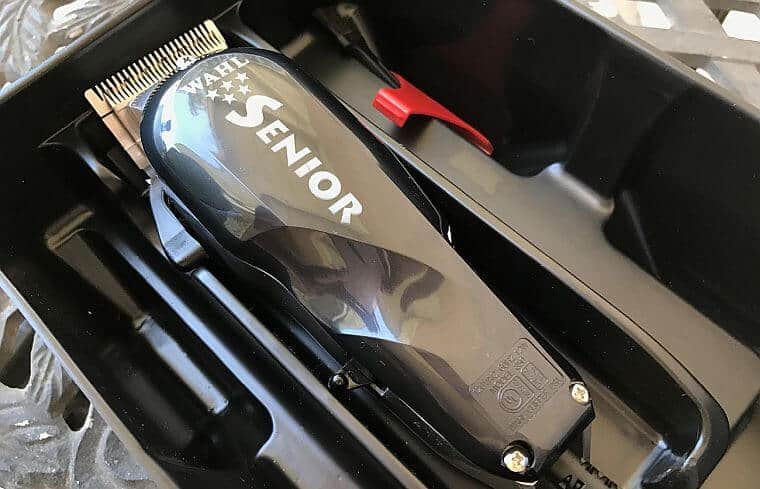 A close second, Wahl 5 star Senior is the best Wahl clippers for fades.