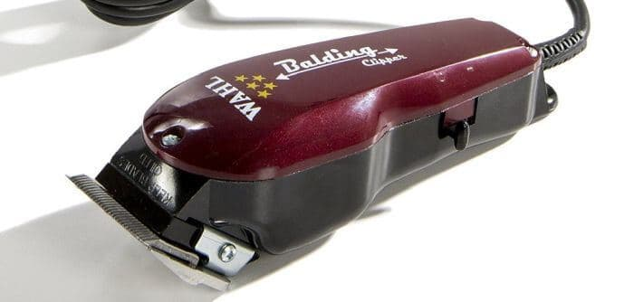 Wahl's 5 star balding clipper: an electric hair cutter with sharp, surgical-precision-ready blades.