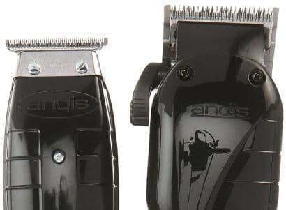 Andis Stylist combo features an Envy clipper and a trimmer with a T-blade.