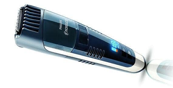Norelco series 7300 is the most luxurious trimmer with vacuum function you can get.