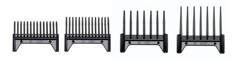 The stock Oster combs can be a way to deal with Oster Fast Feed guards.
