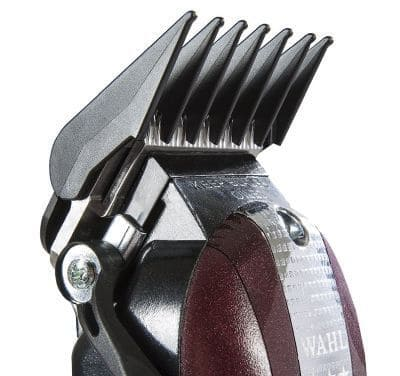Wahl Legend clipper's crunch blade is great for fading action.