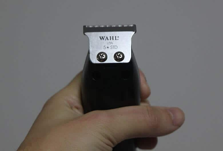 The Wahl professional 8290 Detailer trimmer blade is smaller than the 5 star one.