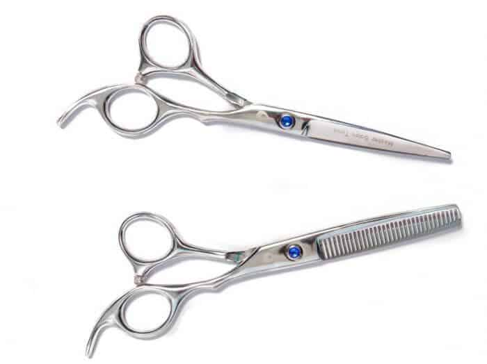 Mosher Tools is our choice for the best thinning shears + best haircut scissors set.