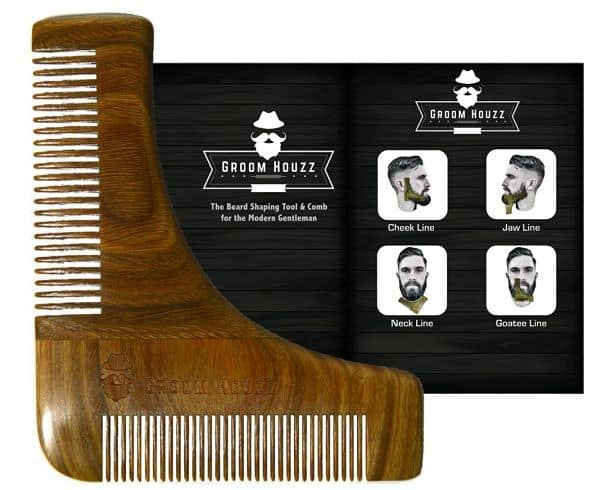Groom Houzz come up with a sandalwood beard styling template.