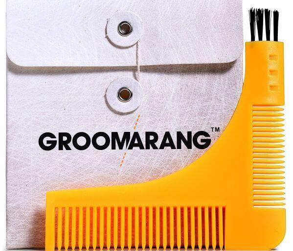 The Groomarang beard shaper in its full glory.