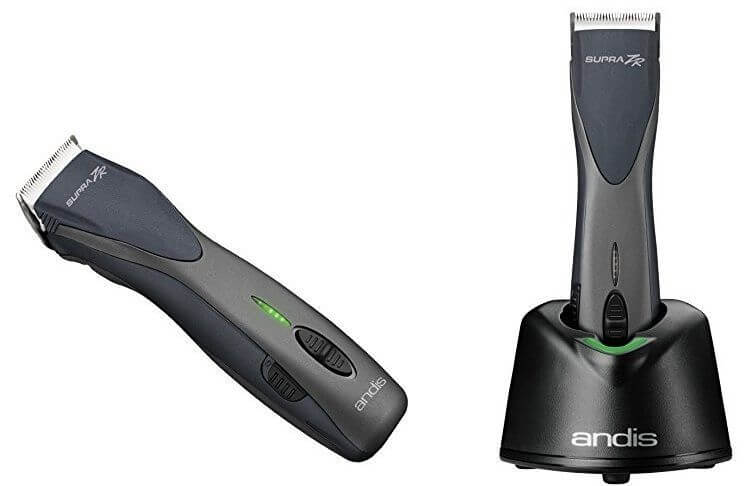 The Supra ZR clipper from Andis comes with the docking station included.