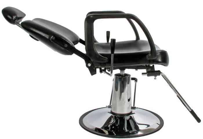 Keller is one of the best barber chair brands and I love this reclining salon chair of theirs.