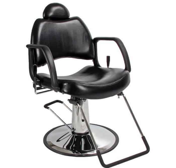 The chair itself adjusts its height from 19.5u201d to 25.5u201d. A good travel range but if youu0027re very tall you might feel itu0027s ...  sc 1 st  HairClippersClub & Pamper your salon with these best barber chairs (hydraulic ... islam-shia.org