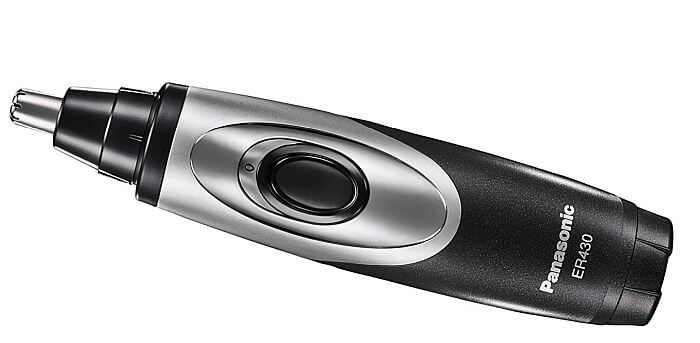 As far as vacuum nose hair trimmers go, Panasonic takes the crown.