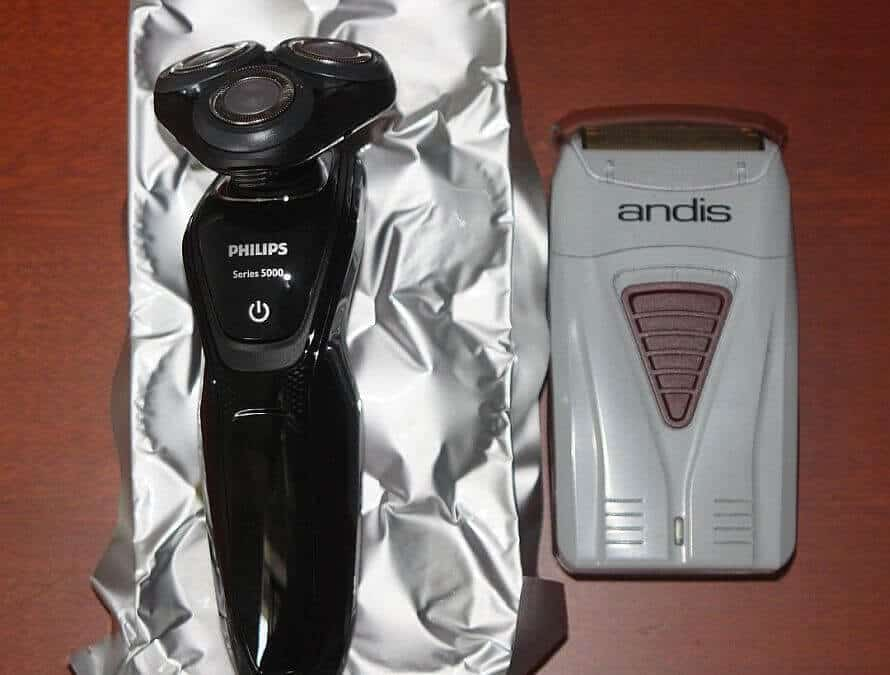 Foil vs rotary shavers: my personal experience as a hairy-faced bald man