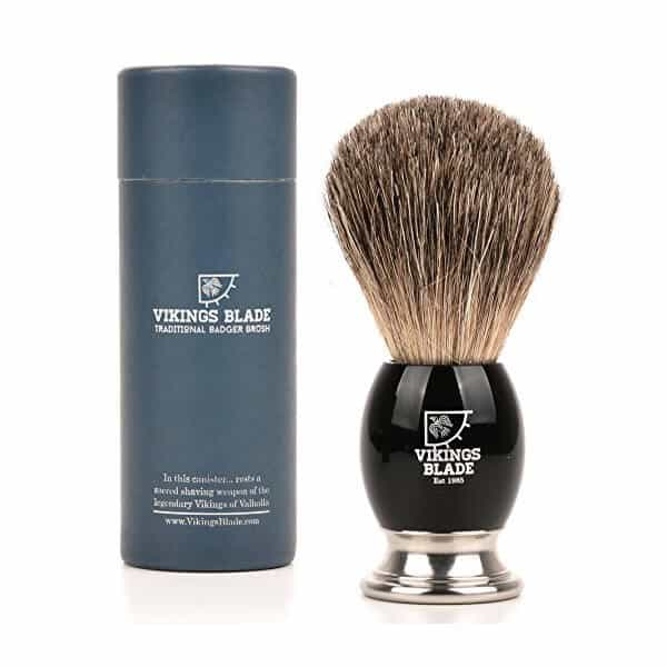 vikings blade shaving brush